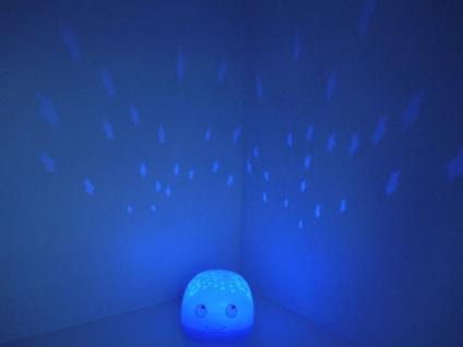 2er SET LED Nachtlichter WAL als Sternprojektor, LED-Farbwechsler bunte Sterne - Vorschau 4