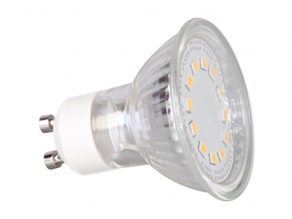LED Leuchtmittel 3W kaltweiß, energiesparend, 12 LEDs XQ-lite