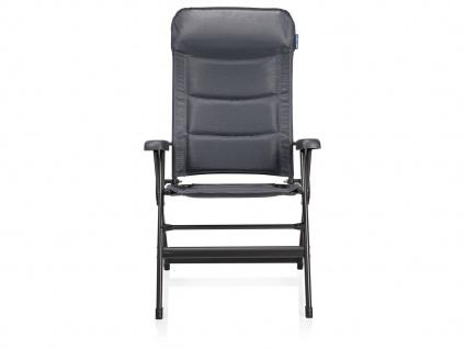 Campingstuhl / Liegestuhl Napoli XL, in 7 Positionen verstellbar, Dunkelgrau - Vorschau 2