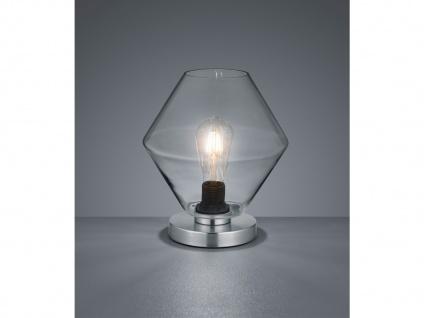Rauchglas Leuchte für den Nachttisch stylishe Wohnzimmerlampen Nachtischlampen