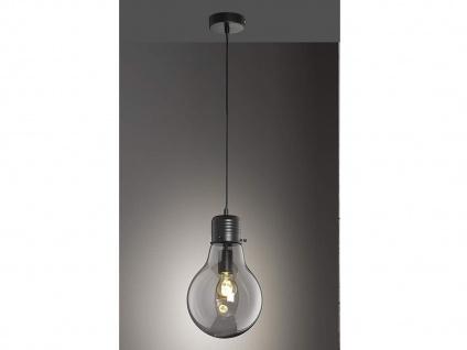 Coole Pendelleuchte LOUIS Ø22cm - Retro Hängelampe Design Glühbirne für Esstisch