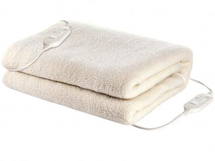 2 Personen Unterdecke aus Wolle, waschbare Heizdecke 160x140cm, Wärmetherapie - Vorschau 2