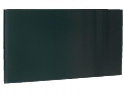 600W Glasheizpaneel, Infrarotheizung schwarz, Glaspaneel rahmenlos, Vitalheizung - Vorschau 2