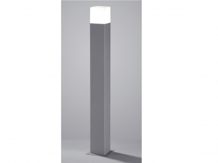 LED Pollerleuchte in Hell Grau 80cm - 3er Set Wegeleuchten Terrassenbeleuchtung - Vorschau 5