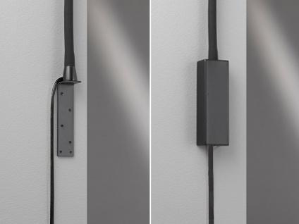 LED Leselampe Schwarz dimmbar Bett Lampe Leuchte fürs Kopfteil Couch Wandmontage - Vorschau 4