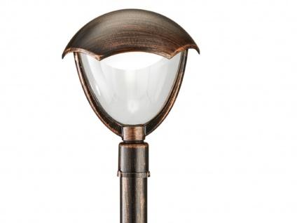 Trio LED Wegeleuchte Pollerleuchte GRACHT rost antik, Außenlampe Gartenlaterne - Vorschau 3