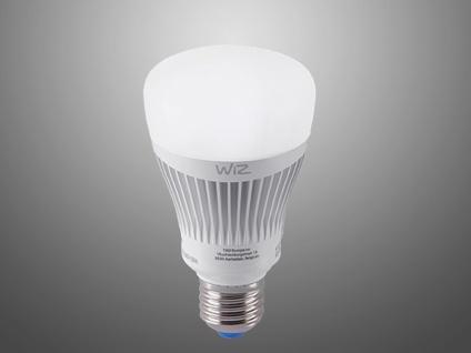 Innovatives LED WiZ Leuchtmittel mit E27 Sockel, 11 Watt & 2200 - 6500 Kelvin