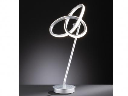 LED Nachttischleuchte in Blattsilber-Optik 2er Set H. 50cm verstellbar Esszimmer - Vorschau 5