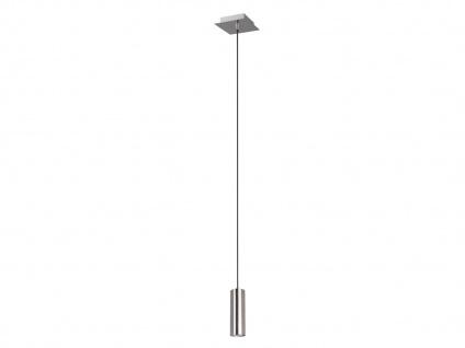 LED Pendelleuchte für Wohnzimmer, Schlafzimmer, Küche & Flur, Metall Silber matt - Vorschau 2