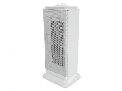 Keramik Heizlüfter oszillierend mit Thermostat & Ventilator - Elektroheizgebläse