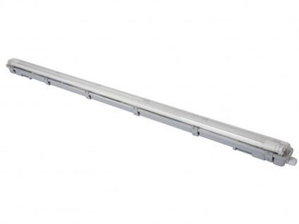 Wasserfeste T8 LED Deckenleuchte 18W für Beleuchtung Keller, Garage, Hobbyraum