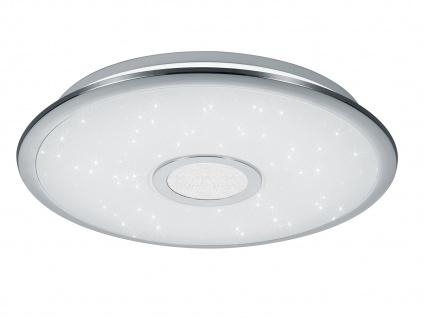 Runde LED Deckenleuchte mit Fernbedienung Dimmer Farbwechsel Nachtlicht Ø 42cm