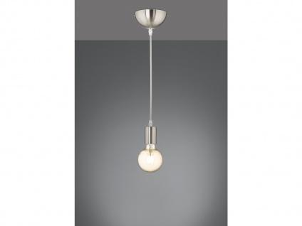 Minimal LED Retro Pendelleuchte Glühbirne an der Schnur - Fadenleuchte mit Kabel