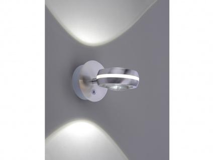 WIZ LED Wandleuchte in Silber matt mit Alexa oder App steuern - fürs Wohnzimmer