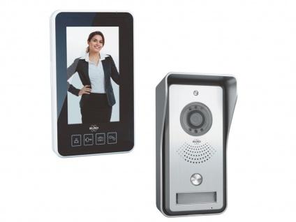 Kabellose Videotürsprechanlage mit tragbarem Monitor, Funkgegensprechanlage Haus