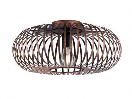 Modernes Deckenlicht - Wohnzimmerleuchte & Schlafzimmerlampe Metallgitter Design