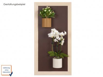 Kunststofftopf mit Magnet Ø 10 cm, Braun, Wandaufbewahrung Wanddeko, KalaMitica - Vorschau 4