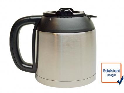 Edelstahl Thermoskanne 1, 2 Liter, Ersatzkanne für Kaffeemaschine DO474K