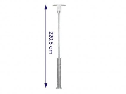 2er Set Konstsmide LED Mastleuchte Wegeleuchte MODE, bruchsicher, Lampe außen - Vorschau 3