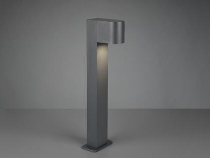 LED Wegeleuchten Pollerleuchten Edelstahl in Silber für außen 45cm max 40W IP44