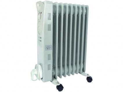 Öladiator Heizkörper mit Rollen, mobile Thermostat Zusatzheizung Elektroheizung