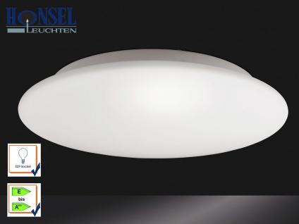Deckenleuchte / Badleuchte IP20 Opalglas matt Ø 40 cm Honsel-Leuchten