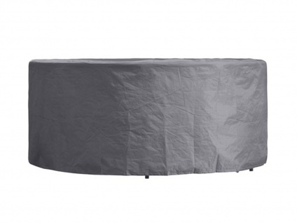 Schutzhülle Abdeckung rund für Gartenmöbel, Plane Ø 150cm witterungsbeständig