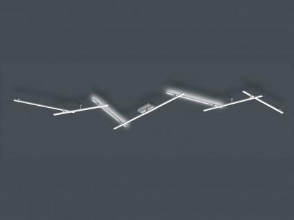 Außergewöhnliche Deckenlampe Schienenleuchte für große Räume LED Wandbeleuchtung