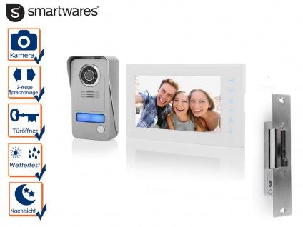 SET Türgegensprechanlage 1 Familienhaus mit Türöffner Kamera & Videosprechanlage
