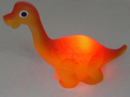 2 Kinder Tischleuchten Schlaflampe Dinosaurier Nachttischlampe Schlummerleuchte - Vorschau 3
