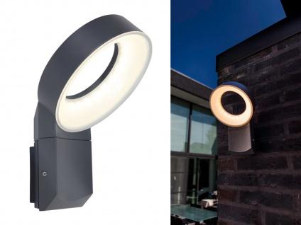 Hochwertige LED Außenbeleuchtung für Wand, Outdoor Wandstrahler mit rundem Kopf