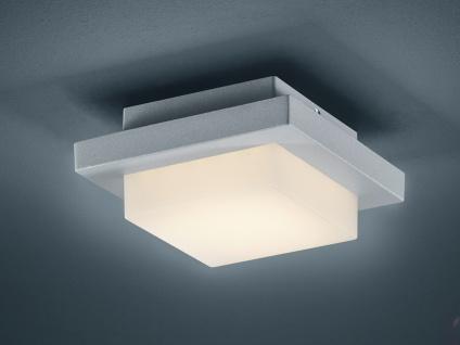 Eckige LED Außenwandlampe in Grau 2 Außenleuchten für Hauswand Außenbeleuchtung - Vorschau 4