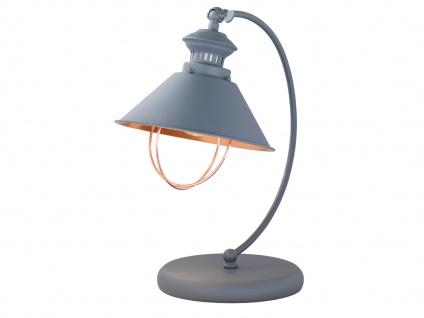 Florence Retro Tischleuchte mit LED, H. 40cm, Schreibtischlampe Tischlampen