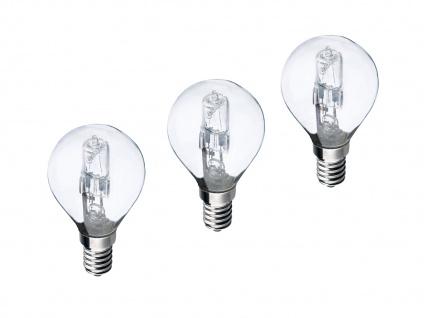 3-ER PACK Halogen Leuchtmittel E14 18 Watt 190 Lumen 2700 Kelvin extern dimmbar