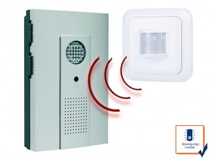 Drahtlos Funktürklingel mit Bewegungsmelder, Präsenzmelder für Zutrittskontrolle