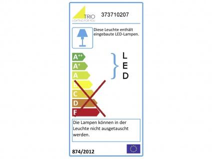 LED Pendelleuchte für Innen mit 3 Stufen Switch Dimmer, Metall Nickel matt, A+ - Vorschau 3