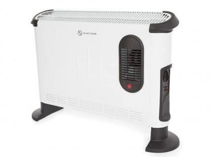 Konvektionsheizkörper Schnellheizer mit Thermostat - Elektro Konvektorheizung