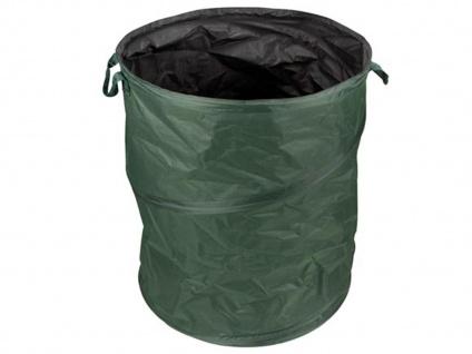 POP-UP Gartenabfallsack mit Griffen, 85 Liter, wasserdicht für Gartenabfälle