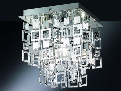 Romantische Schlafzimmerlampe LED Deckenleuchte Chrombehang Esszimmerleuchten