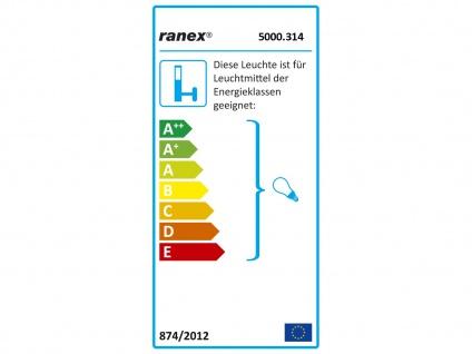 LED Terrassenlampe im Industrie Design für außen Deckenlampe Wandlampe Garten - Vorschau 4