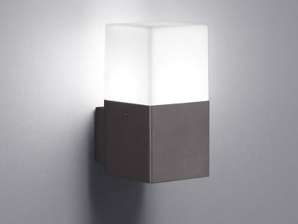 Eckige LED Außenwandlampen Anthrazit 2er SET Außenleuchten Terrassenbeleuchtung - Vorschau 4