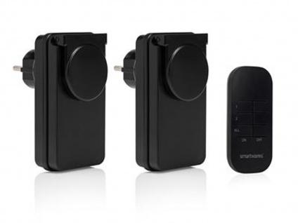Outdoor Funk Steckschalter Steckdosenset & Fernbedienung für Leuchten, Geräte