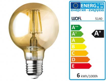 Dimmbare LED Pendelleuchte mehrflammig mit 4 Rauchglasschirmen, Esszimmerleuchte - Vorschau 5