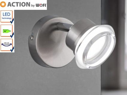LED Wandspot / Wandleuchte schwenkbar, Acrylglas, Action by Wofi