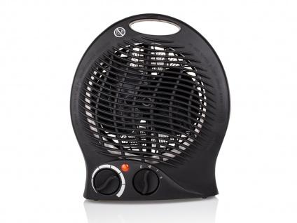 Elektroheizung Ventilator Camping isolierter Handgriff Überhitzungsschutz 2000W