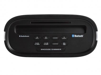 Tristar Uhrenradio Bluetooth, USB-Anschluss, PLL-Tuning, Snooze-Funktion - Vorschau 3