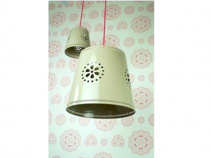 LIEF Liebevoll designte Hängeleuchte Landhausstil fürs Mädchen Kinderzimmer 35cm