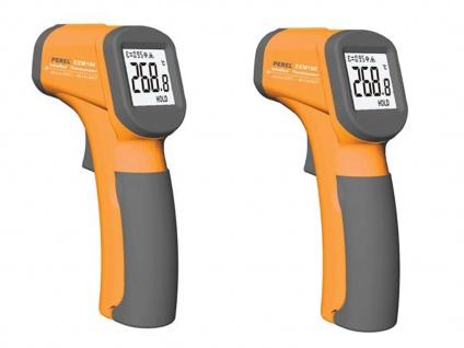 2Stk. Infrarot Thermometer Pyrometer mit Laser - Messgeräte auch für Babynahrung