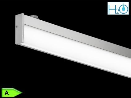 Bad-Wandleuchte, ink. 1 x 12W LED, L.: 120cm, IP44, mit Schalter Chrom - Vorschau 4