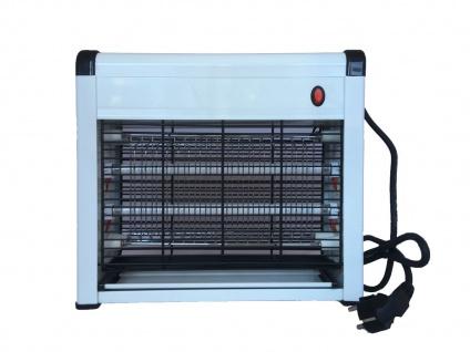 Elektrischer Insektenvernichter mit UV, Mückenschutz Fliegenfalle Schnaken Licht - Vorschau 3